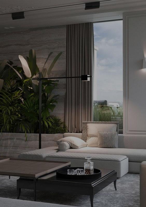 Decoração (Projetos de Interiores)